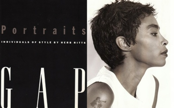 Jody Watley by Herb Ritts for GAP.