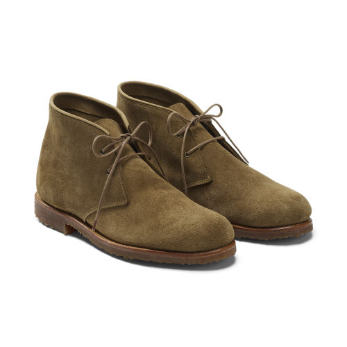 A classic 'desert boot.' I've had a soft spot for guys in desert boots since junior high! Photo: WWD