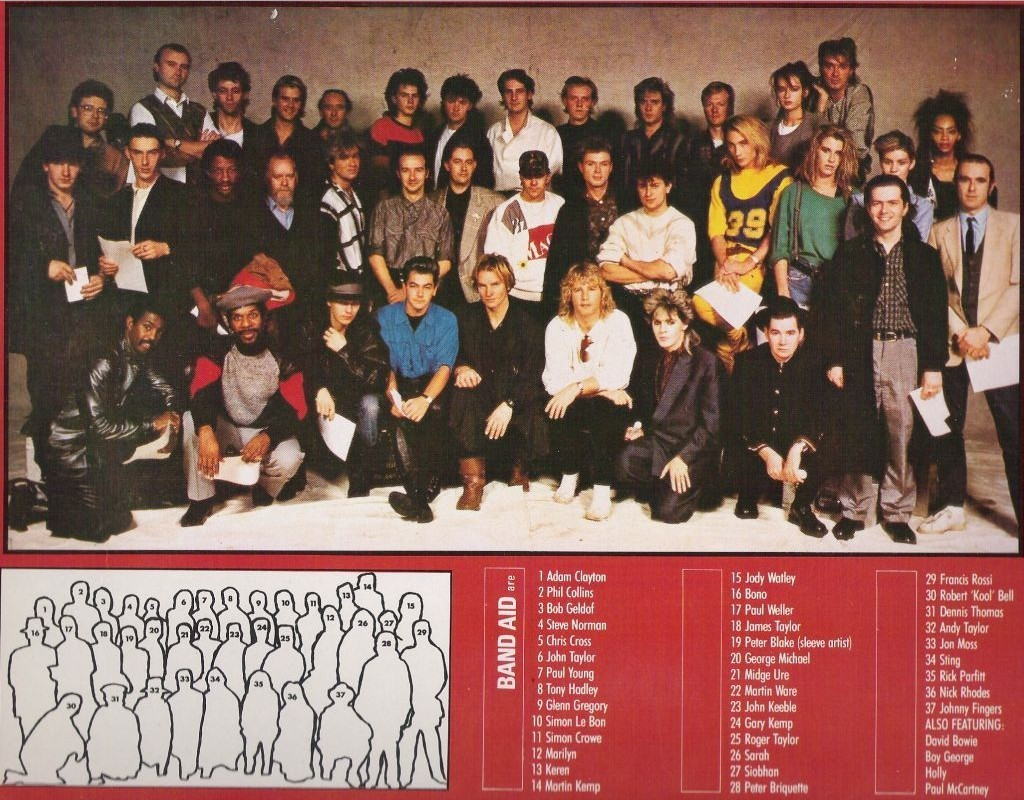 The Official Band Aid Magazine No. 1 - Feed the World - 1984 - 32 pp