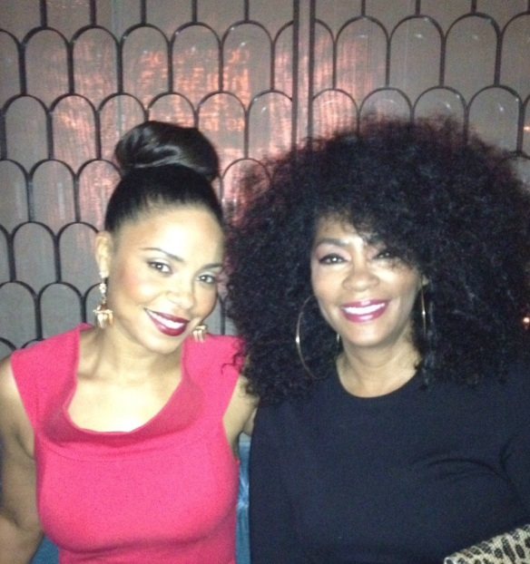 Actress Sanaa Lathan and Jody Watley