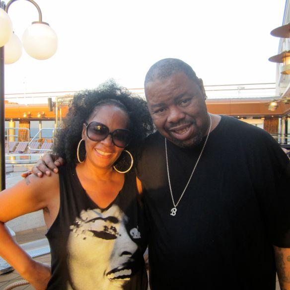 Jody Watley and DJ Biz Markie