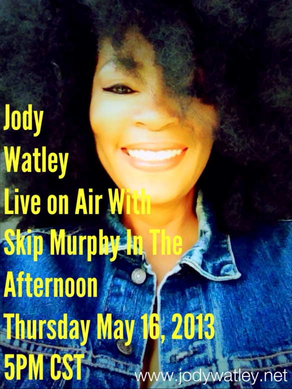 Jody Watley Live On Air With Skip Murphy In The Afternoon.