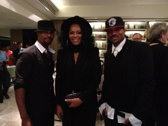 """With two of my favorite guys John  """"Havic Gregory"""" and Rosero MCoy at after-party"""