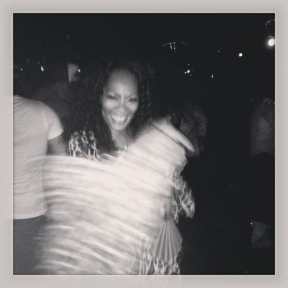 Twirling in my maxi dress the motion captured on film. Photo: Jody Watley Music (c) 2013