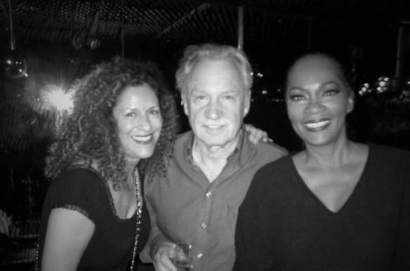 Francisca Moroder, Giorgio Moroder and Jody Watley. Photo (c): Jody Watley 2013