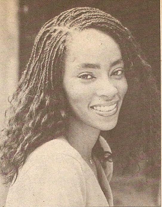 Jody Watley in Right On Magazine talking hair in 1979.