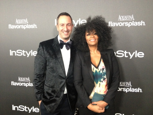 Photo: © 2013 Jody Watley with Christos Garkinos of Decades Inc