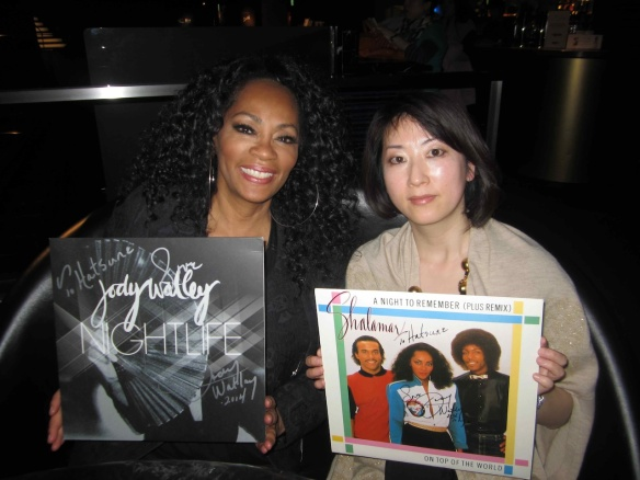Photo: © 2014 Jody Watley with illustrator Hatsune.