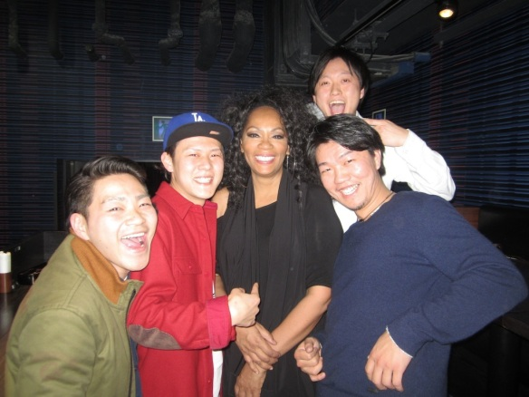 Photo: © 2014 Jody Watley. These young men in Osaka were so enthusiastic to meet me and told me they'd been introduced to my music by their parents! I love that.