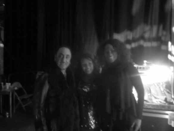 David Gest. Candi Staton and I backstage Legends of Soul Tour. © 2014 Jody Watley