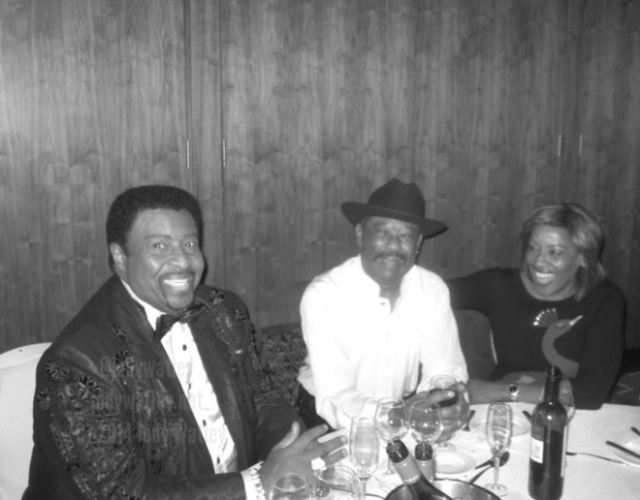 Dennis Edwards, Eddie Holman, Gwen Dickey original lead singer of Rose Royce  in Liverpool © 2014 Jody Watley