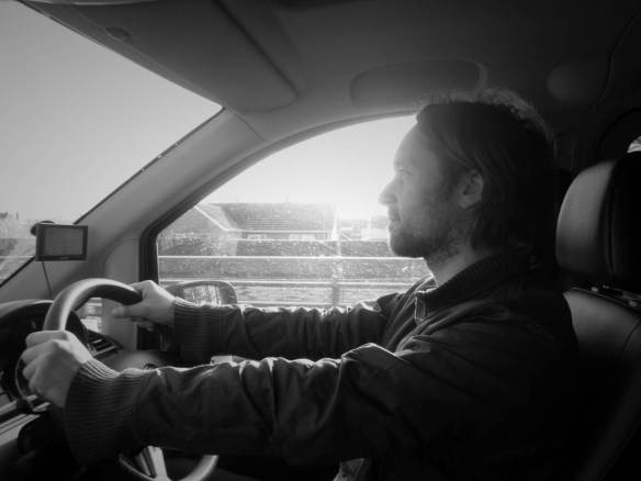 Keeping my eye on the driver for more reasons than one. © 2014 Jody Watley