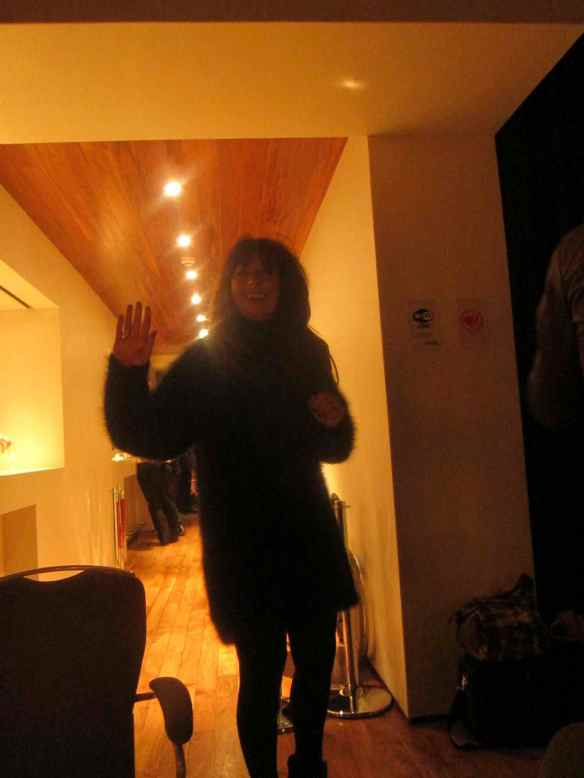 Teresa, works with David Gest - always fashionable and on the move. © 2014 Jody Watley
