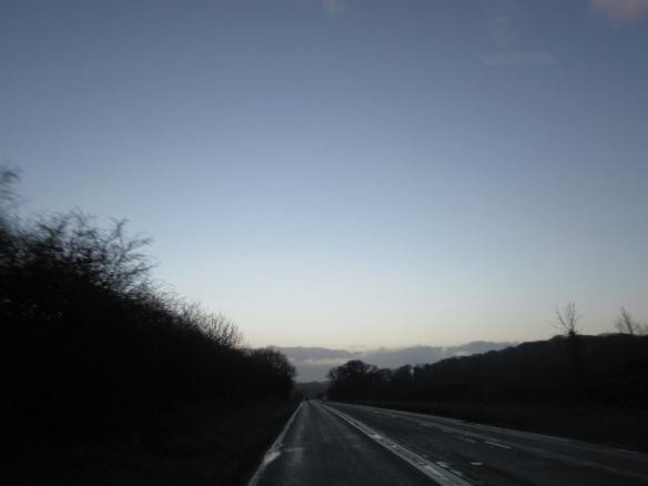 On the road from Skegness, United Kingdom. © 2014 Jody Watley