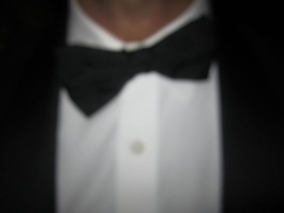 It's all about the black tie theme birthday for John Eshaya pictured.