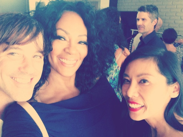 "Bryan Rabin, Jody Watley, Kathy Jeung turn out for 'Eureka by Christos Garkinos"" in Los Angeles © 2014 Jody Watley"