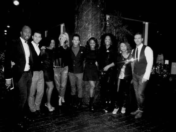 Gilgamesh, Camden. Some of the pictured with me include Bryan Chambers, Louise Marshall, Beverley Knight, Candi Staton