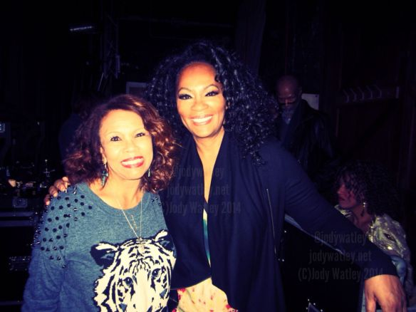 With legendary Candi Staton - I loved watching her perform, she shared great stories one night listening to her and Little Anthony on a long drive back from one of the shows was priceless.