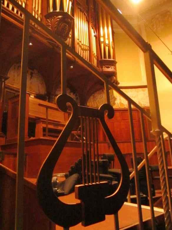 Vintage organ pipes - Hull.