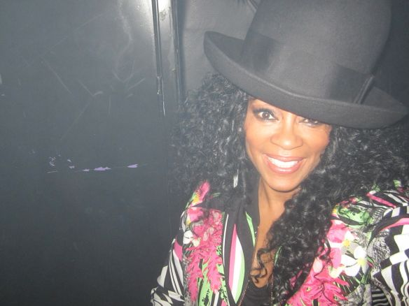 I borrowed Eddie's hat. © 2014 Jody Watley