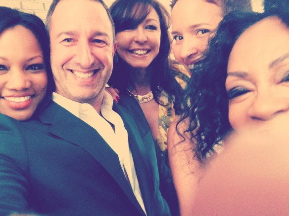 Fun Selfie - Eureka by Christos Garkinos Trunk Show Party © 2014 Jody Watley