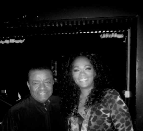 The delightful and eternally youthful voiced Little Anthony and Jody Watley © 2014 Jody Watley