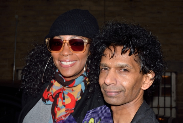 Jody Watley with Nilesh.
