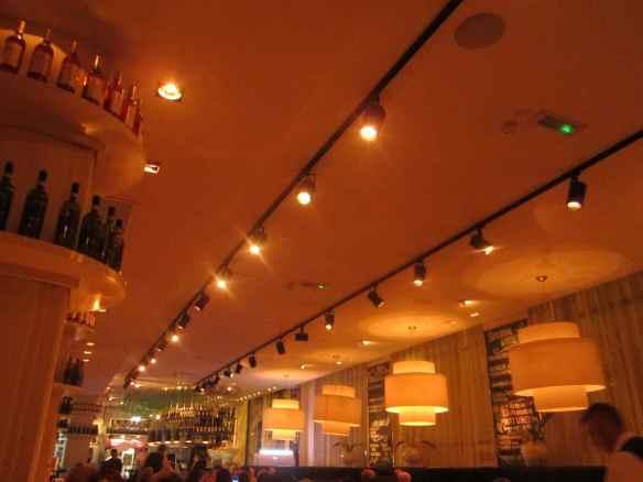 San Carlos Interior - GREAT restaurant!