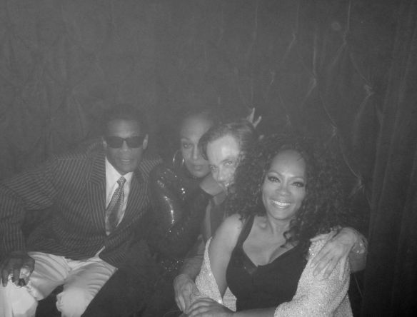 Gerald Brown, Wallace Butts, Bryan Rabin, Jody Watley - A Night to Remember! Photo: © 2014 Jody Watley