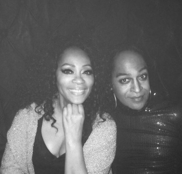 "Jody Watley with Wallace Butts celebrate the 'Nightlife"" at Giorgio's. Photo © 2014 Jody Watley"