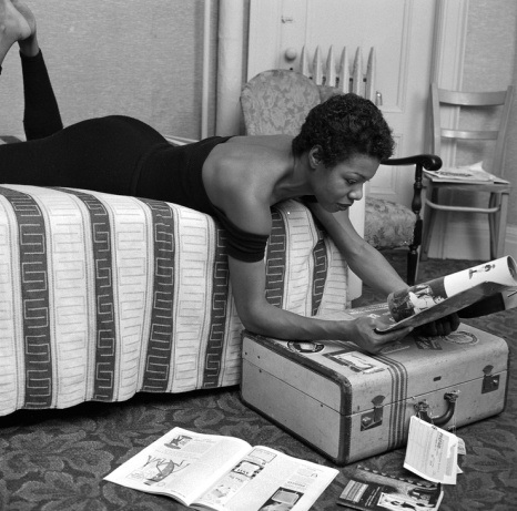 A young Maya Angelou Via Vintage Black Glamour on Tumblr