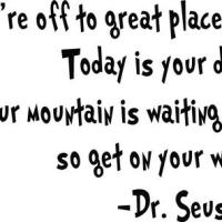 Thought of the Day. Your Mountain.