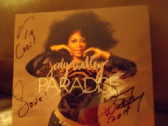 "Cecil Brandon-Brooks, Florida "" Jody Watley / New CD PARADISE is rocking Hot!!!!!!"""