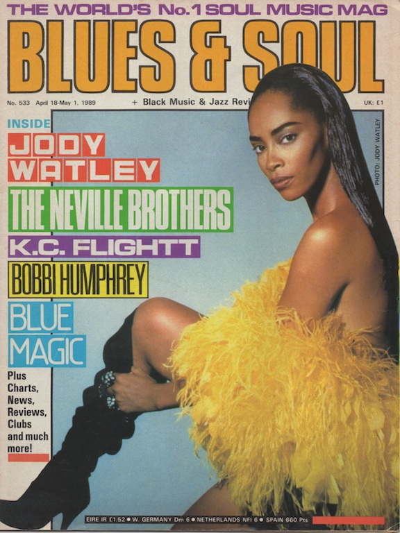 #TBT On The Cover of the UK Music Magazine Blues and Soul in 1989.