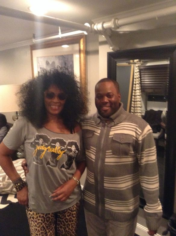 Jody Watley and MuthaKnows of Philly's Power 99 Rise & Grind Crew