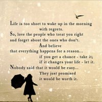 Thought of The Day. Life.