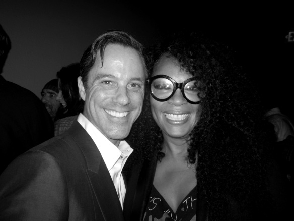 Event Producer Bryan Rabin and Jody Watley