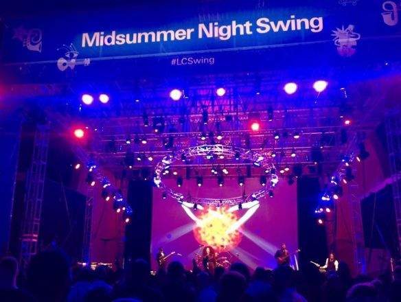 SHALAMAR ® Reloaded heat up a Lincoln Center for Midsummer Night Swing - a can't miss event.