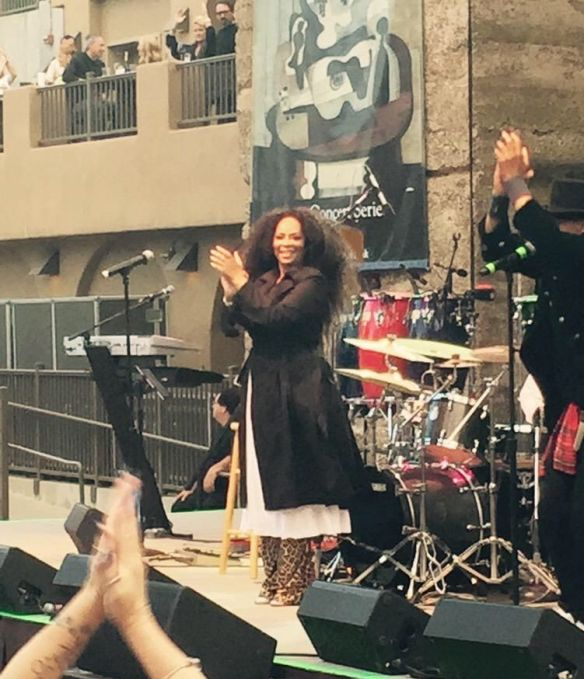 Jody Watley. Mountain Winery 2015