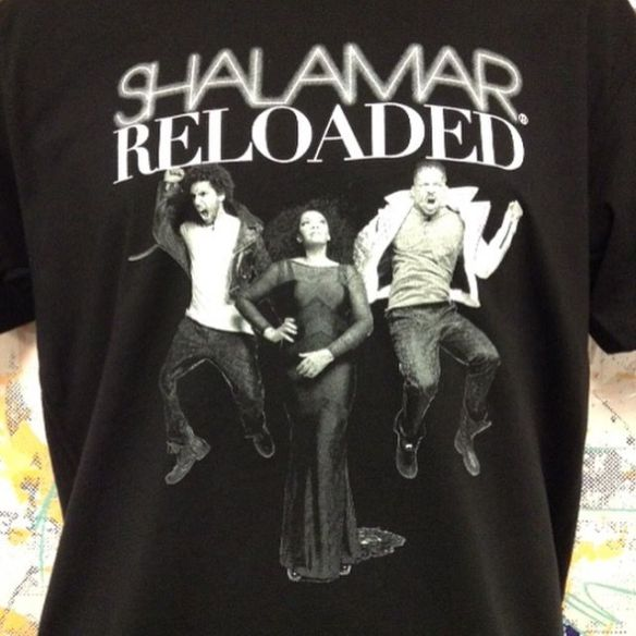 Limited Edition Black T SHALAMAR Reloaded