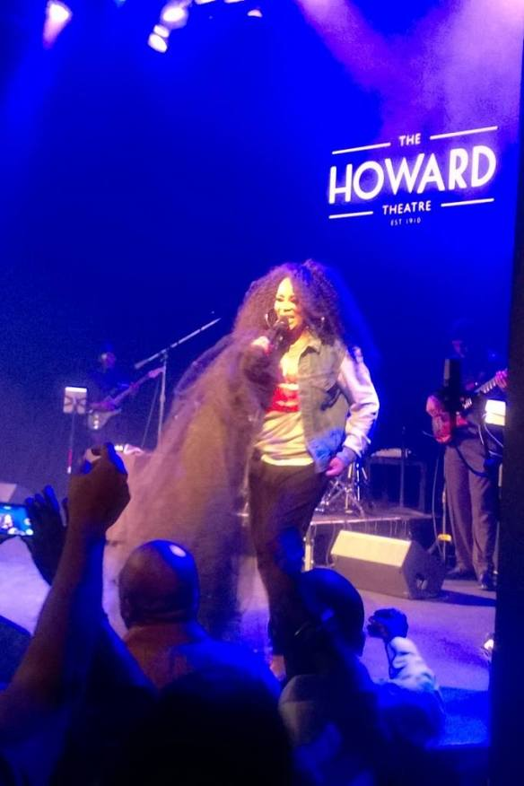 Jody Watley. Live at The Howard Theater