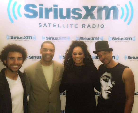 Nate Allen Smith, B.K. Kirkland, Jody Watley and Rosero McCoy.