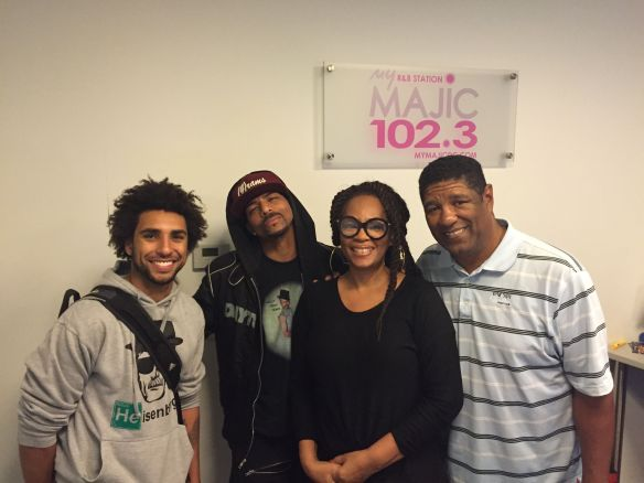 Nate Allen Smith, Rosero McCoy Jody Watley and John Monds.