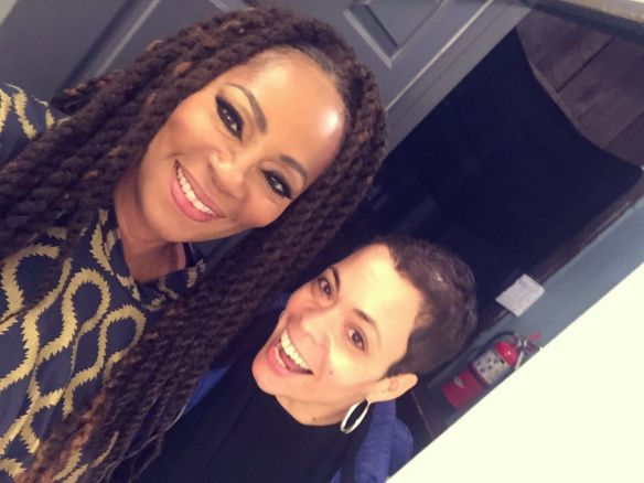 Jody Watley and Nikki Strong WHUR / Voice of America at Blues Alley