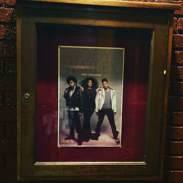 Jody Watley and Shalamar® poster at Ramshead Onstage