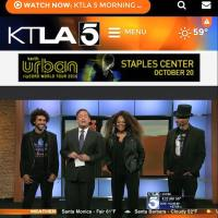 Jody Watley and Shalamar Reloaded Performance and Interview on KTLA Morning News Entertainment