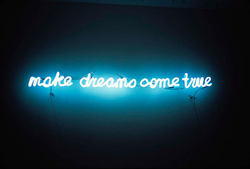 Blue Cute Dream Lights Quote Favim 178330