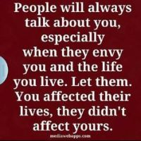 Thought of The Day. Let Them Talk.