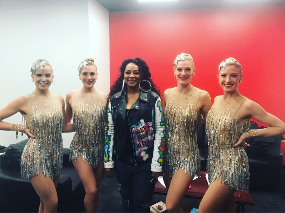 Jody Watley and The Rockettes 2017 Good Day NYC
