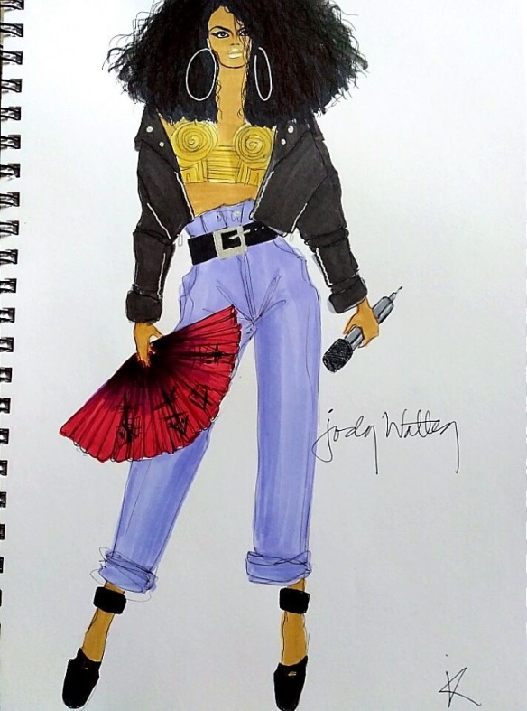 Jody Watley by Jay-r Dumarce Art